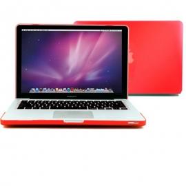 "Obal na MacBook Pro 13.3"" Červený pogumovaný"