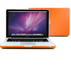 "Obal na MacBook Pro 13.3"" Oranžový pogumovaný"