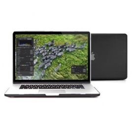 "Obal na MacBook Pro Retina 13"" Černý Pogumovaný"
