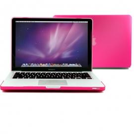 """Obal na MacBook Pro 13.3"""" Růžový pogumovaný"""