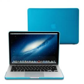 "Obal na MacBook Pro Retina 13"" Světle modrý Pogumovaný"