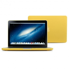 """Obal na MacBook Pro Retina 13"""" Žlutý Pogumovaný"""