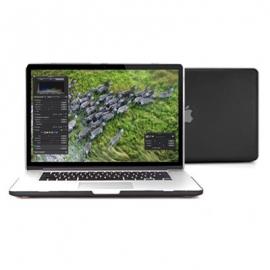 "Obal na MacBook Pro Retina 15"" Černý Pogumovaný"