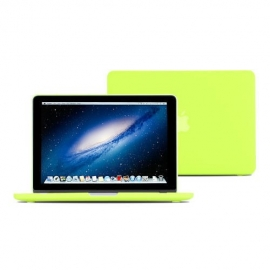 """Obal na MacBook Pro Retina 13"""" Neonově žlutý lesklý"""