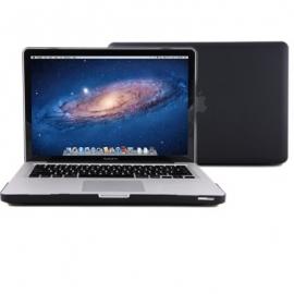"""Obal na MacBook Pro 15"""" Černý Pogumovaný"""