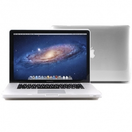"""Obal na MacBook Pro 13.3"""" Transparentní pogumovaný"""