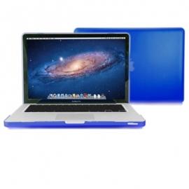 """MacBook Pro 15"""" Obal Tmavě modrý Pogumovaný"""