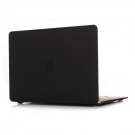 """Obal na MacBook 12"""" Černý Pogumovaný"""