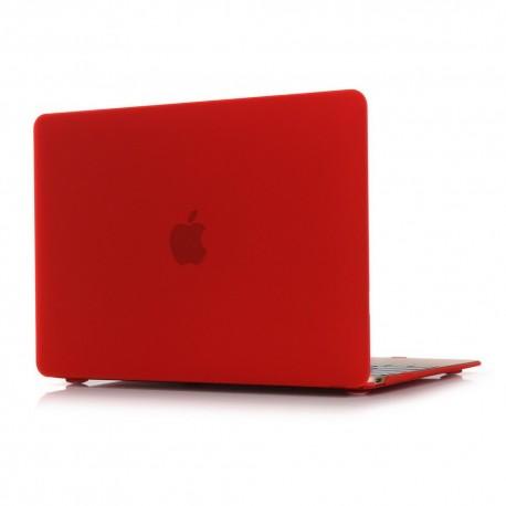 """Obal na MacBook 12"""" Červený Pogumovaný"""