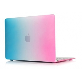 "MacBook 12"" Obal Rainbow (Duha) Pogumovaný"