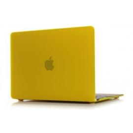 """Obal na MacBook 12"""" Žlutý Pogumovaný"""