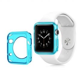 Obal / kryt na Apple Watch 42mm - světle modrý
