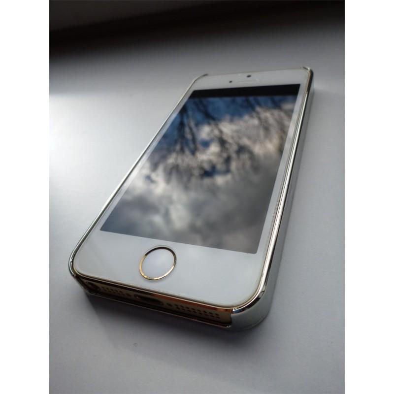 ... Obal   kryt na iPhone 5   5S Stříbrný (karbon) 577911b1c7d