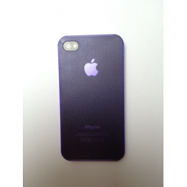 Zadní kryt na iPhone 4 Švestkový