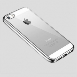 Obal / kryt na iPhone 5 / 5S / SE Silver (stříbrný)