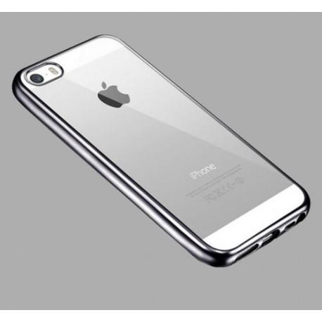 Obal / kryt na iPhone 5 / 5S / SE Space Gray (šedý)