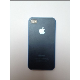 Zadní kryt na iPhone 4 Tmavě modrý