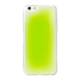 Obal / kryt na iPhone 6 / 6S Aroma Pooding (Zelený)