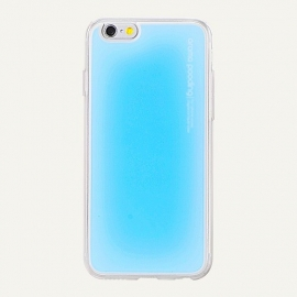 Obal / kryt na iPhone 6 / 6S Aroma Pooding (Modrý)