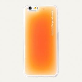 Obal / kryt na iPhone 6 / 6S Aroma Pooding (Oranžový)