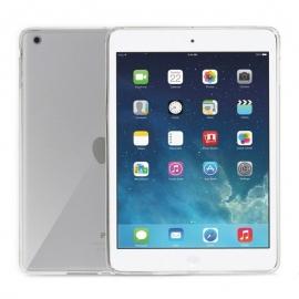 Obal / kryt na iPad Air - gumový / silikonový (průhledný)