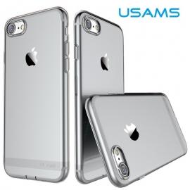 Obal / kryt na iPhone 7 / 8 USAMS - šedá / černá