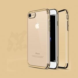 Obal / kryt na iPhone 7 / 8 USAMS Gold (zlatý)