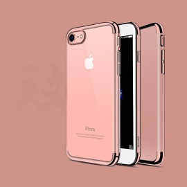 Obal / kryt na iPhone 7 / 8 USAMS Rose Gold (růžový)