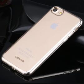 Obal / kryt na iPhone 7 / 8 USAMS - KIM Series - Silver (stříbrný)