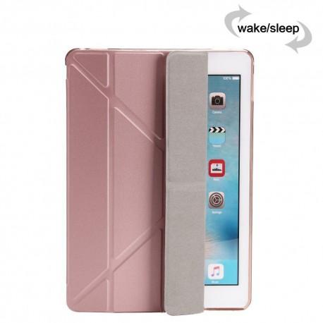 Obal / pouzdro tzv. smart case na iPad Air 2 -rose gold (růžová)