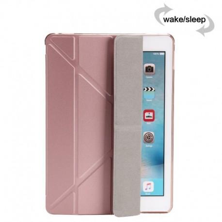 Obal / pouzdro tzv. smart case na iPad 2/3/4 - rose gold (růžová)