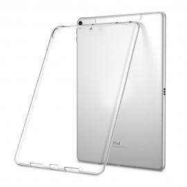 Obal / pouzdro tzv. smart case na iPad 2017 (5. generace) - gumový / silikonový (průhledný)
