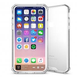 Obal / kryt na iPhone X - transparentní