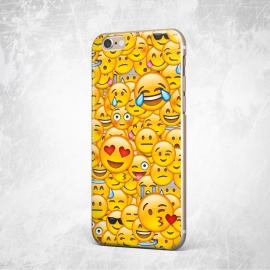 Obal / kryt na iPhone 7 / 8 Emoji (smajlíci)