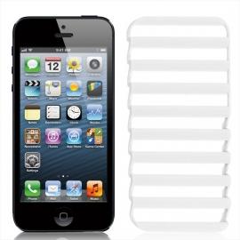 Obal / kryt na iPhone 5 / 5S / SE Bílý žebřík