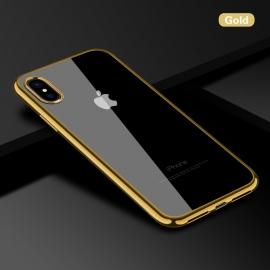 Obal / kryt na iPhone X Champagne Gold (zlatý)