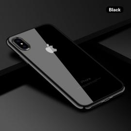 Obal / kryt na iPhone X Black (černý)