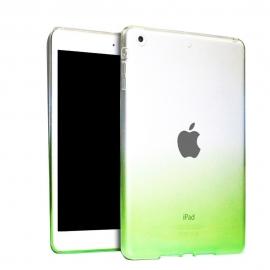 Obal / kryt na iPad mini 1/2/3  - gumový / silikonový zelený