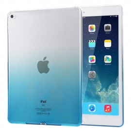 Obal / kryt na iPad Air - gumový / silikonový modrý