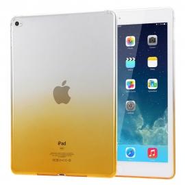Obal / kryt na iPad Air - gumový / silikonový žlutý