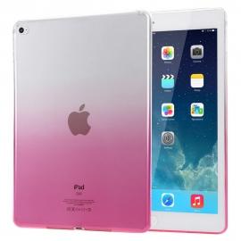 Obal / kryt na iPad Air - gumový / silikonový růžový
