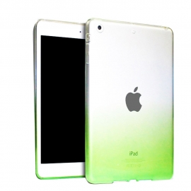 Obal / kryt na iPad Air - gumový / silikonový zelený