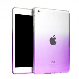 Obal / kryt na iPad Air - gumový / silikonový fialový