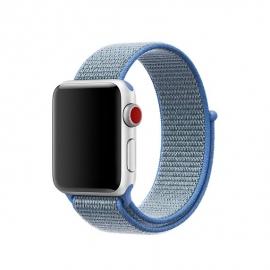 Pletený pásek pro Apple Watch 38/40mm modrý