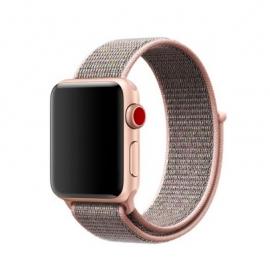 Pletený pásek pro Apple Watch 42/44mm rosegold