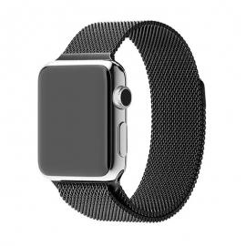 Ocelový pásek pro Apple Watch- 38/40 mm- black