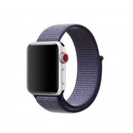 Pletený pásek pro Apple Watch 42/44mm tmavě modrý