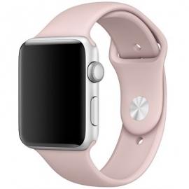 Sport pásek pro Apple Watch 42/ 44mm - starorůžový