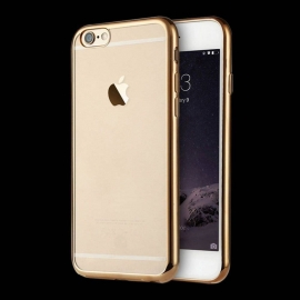 Obal / kryt na iPhone 7/8 Champagne Gold (zlatý)