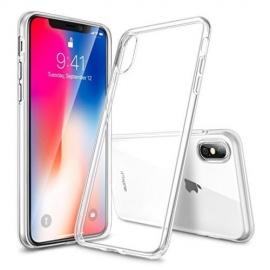 Obal / kryt na iPhone X silikonový průhledný